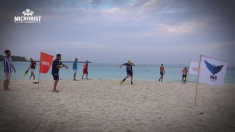 """Water-football"" și biathlon de plajă, la ""Microbist de România""   VIDEO"