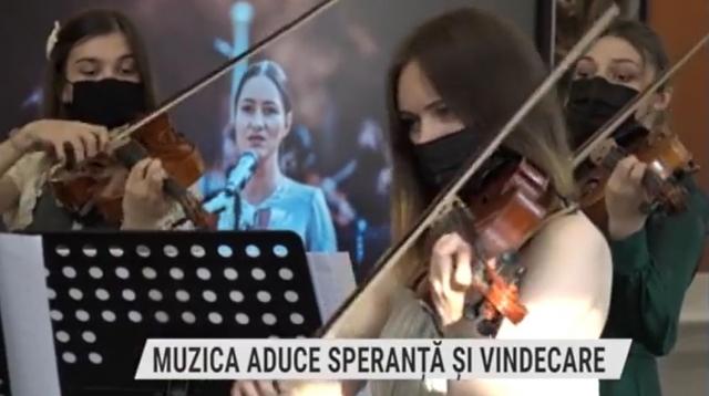 Muzica aduce speranță și vindecare | VIDEO