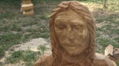 Festivalul sculptorilor cu drujba | VIDEO