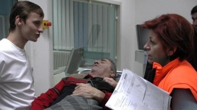 Luminița Gheorghiu în Moartea domnului Lăzărescu