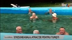 Stațiunea Bala, atracție pentru turiști   VIDEO