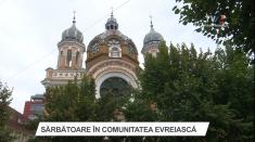 Sărbătoare în comunitatea evreiască din Tîrgu Mureș | VIDEO
