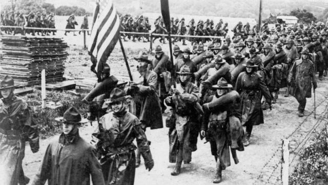 americani soldati primul razboi mondial