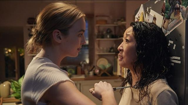 Jodie Comer si Sandra Oh in Killing Eve_1