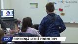 Experiență inedită pentru copii   VIDEO