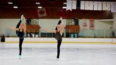 """Campionii patinajului artistic, în filmul """"Rivale pe gheață"""