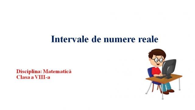 Matematica VIII 13 octmbrie continuare numere reale