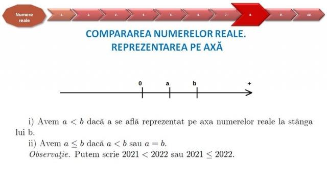 matematica VIII 13 octombrie 2021
