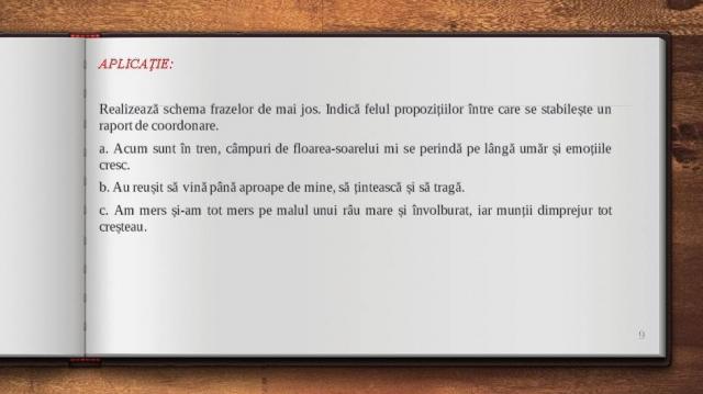Română VIII 12 octombrie 2021