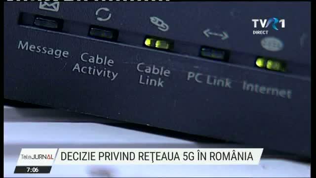 Legea privind realizarea rețelei 5G în România, discutată în ședința de Guvern