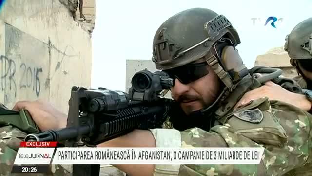 EXCLUSIV. Participarea românească în Afganistan, o campanie de 3 miliarde de lei. Țara noastră se retrage după 19 ani